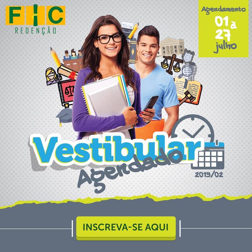 Vestibular Agendado FIC 2019/2