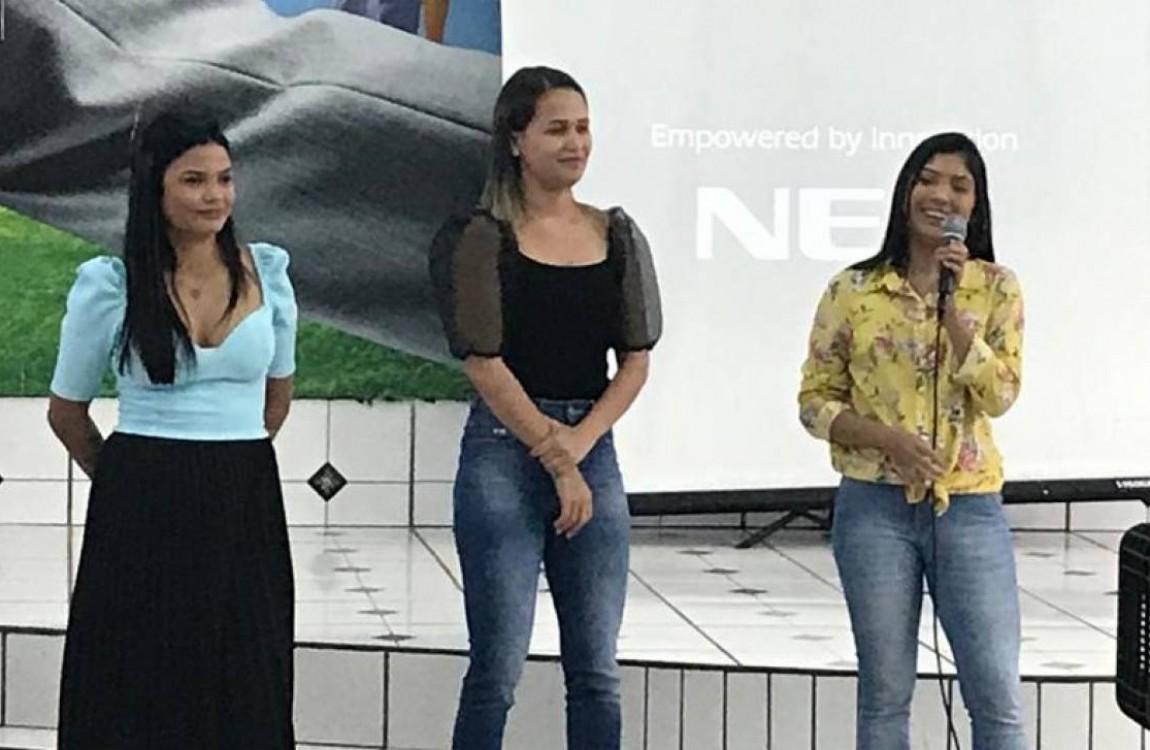 Alunas de Nutrição da FIC realizam palestra alusiva ao Dia Internacional da Mulher, em Redenção