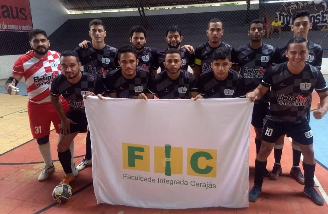 Time de Futsal da FIC foi campeão invicto de Copa Universitária no Tocantins