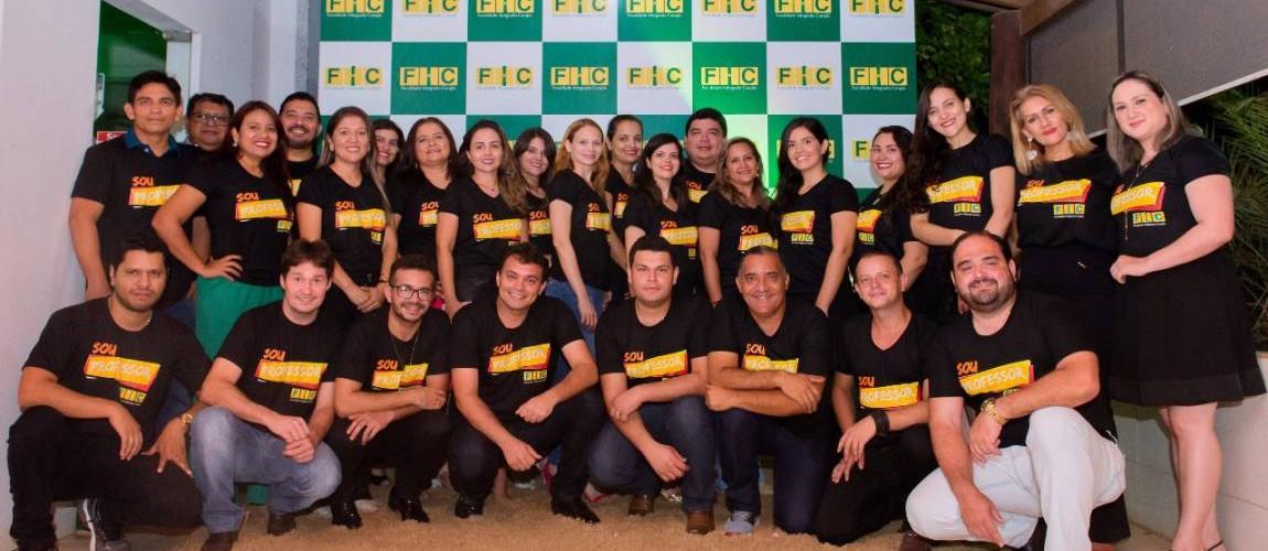 FIC realizou confraternização em comemoração ao Dia dos Professores