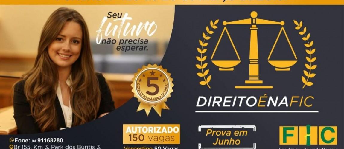 Direito é o mais novo curso da FIC, em Redenção