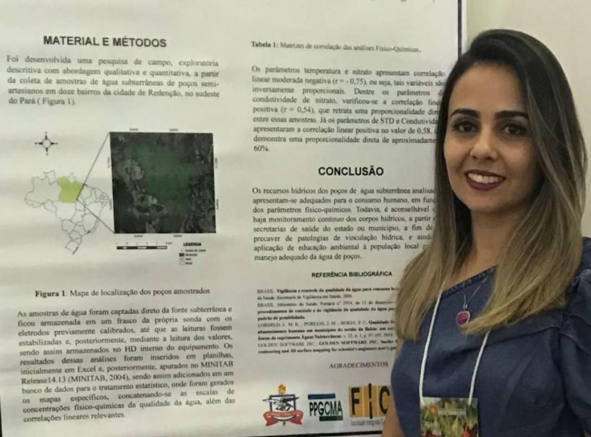 Professora do curso de Enfermagem da FIC apresenta Trabalho Científico em congresso realizado em Poços de Caldas-MG